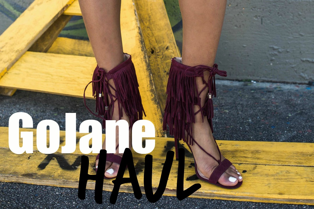 gojane fashion haul